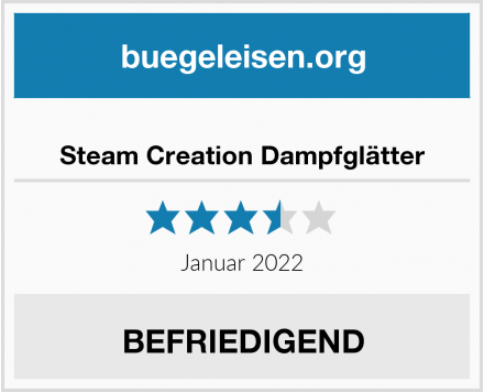 Steam Creation Dampfglätter Test